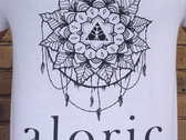 'ALORIC' White T-Shirt // Unisex photo