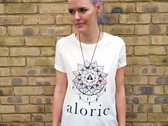 'ALORIC' Ecru T-Shirt // Unisex photo