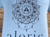 'ALORIC' Sky Blue T-Shirt // Unisex photo