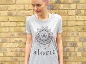 'ALORIC' Grey Marl T-Shirt // Unisex photo