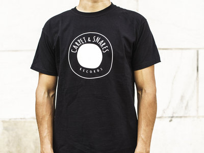 Carpet & Snares Records T-shirt Logo (black) main photo