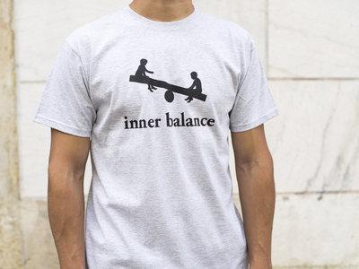 Inner Balance T-shirt logo (grey) main photo