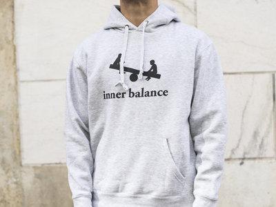 Inner Balance Hoodie logo (grey) main photo