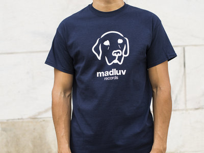 Madluv Records T-shirt logo (navy blue) main photo