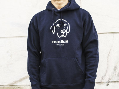Madluv Records Hoodie logo (navy blue) main photo