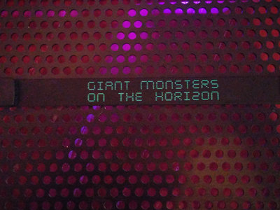 Giant Monsters on the Horizon USB Wristband - 2 albums + Remixes main photo