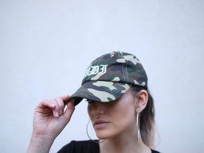ADI - camo print hat main photo