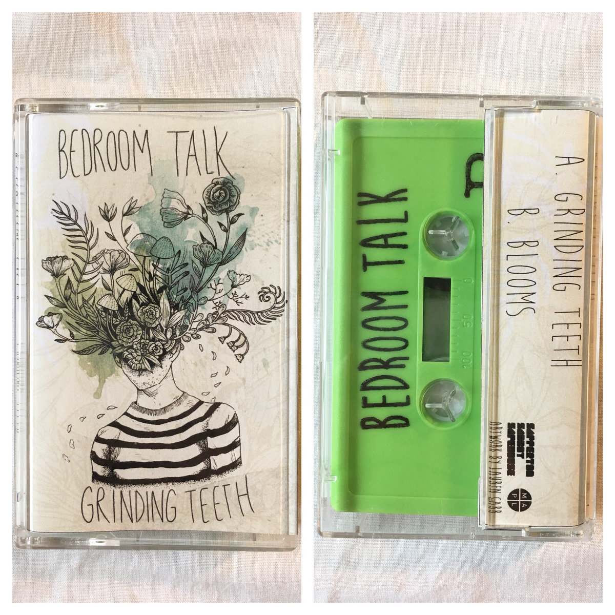 Bedroom Talk  Grinding Teeth EP  Limited Edition Cassette. Grinding Teeth   Bedroom Talk