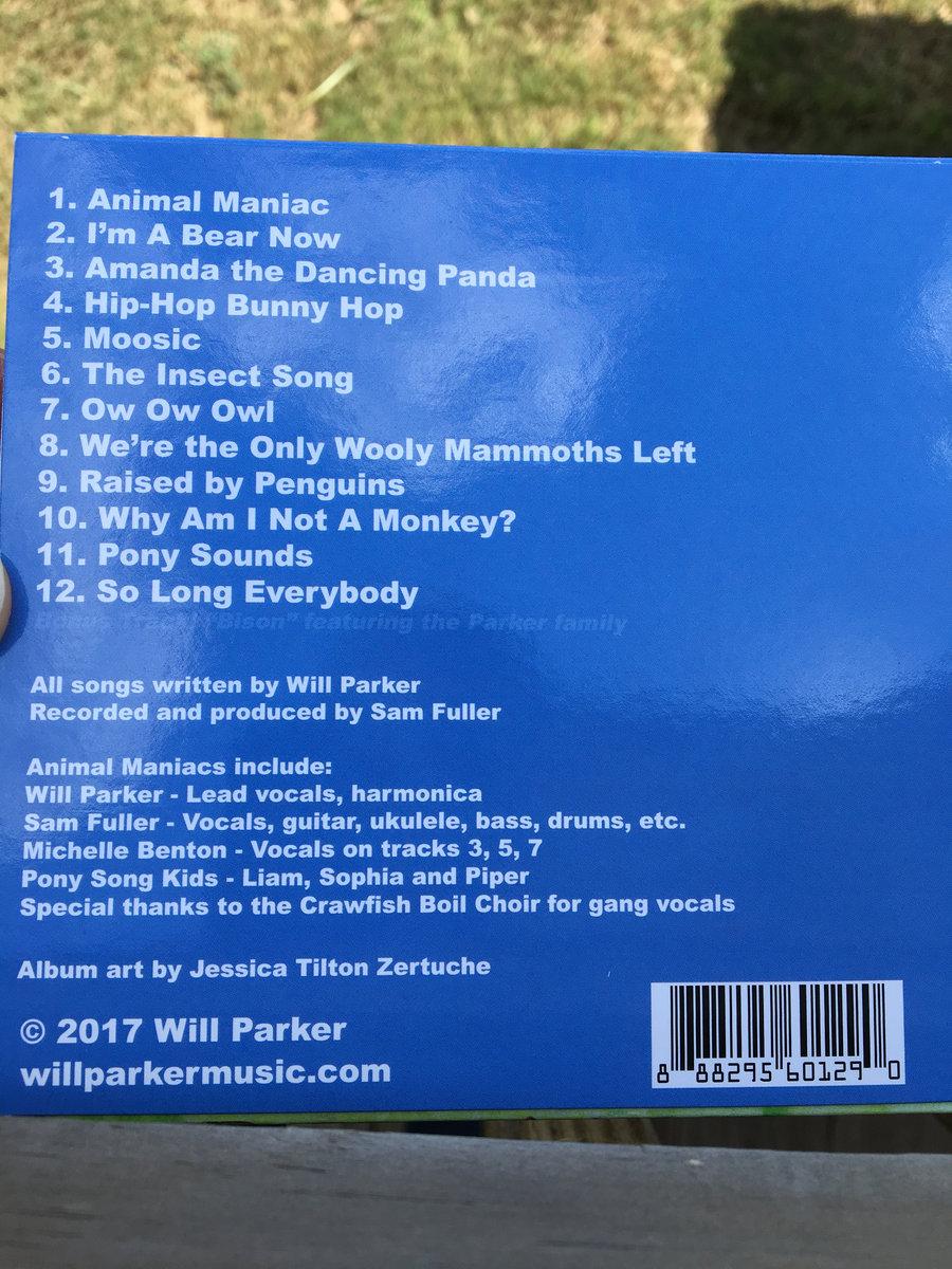 Animal Maniac | Will Parker
