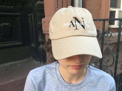 "Alex Napping ""AN"" Logo Baseball Cap main photo"