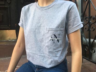 "Alex Napping ""AN"" Logo Pocket Tee main photo"