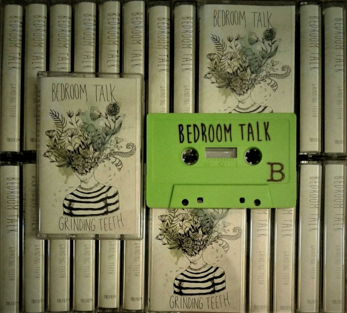 Limited Edition Hand Numbered Cassette. Grinding Teeth   ToskaTapes