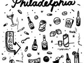 """South Philadelphia"" Unisex Raglan T-shirt photo"