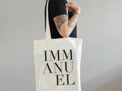 Tote Back 'Immanu El' (white) main photo