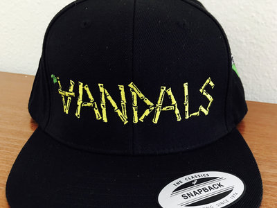 """Classic """"Vandals"""" Snapback Hat with V-Gun Side Embroidery main photo"""