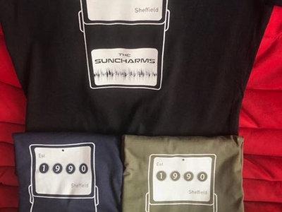 Suncharms Guitar Pedal Design T-Shirt main photo