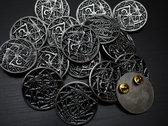 Korona metal pin photo