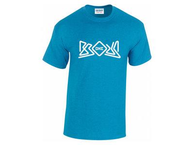 Brous One Logo Tee Shirt (Heather Sapphire) main photo