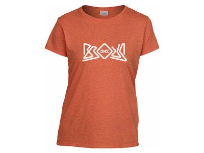 Brous One Logo Tee Shirt (Sunset Heather - Ladies) main photo