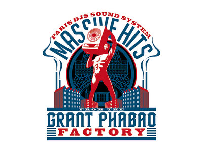 Wearplay LP#14 - Massive Hits From The Grant Phabao Factory - T-shirt Made In France main photo