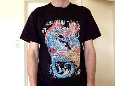 916b922e05a476 Dragon Skateboard T-Shirt. from Michael Jordan Touchdown Pass