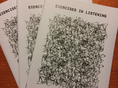 Exercises in Listening Issue Three edited by Richard Francis (NZ) main photo