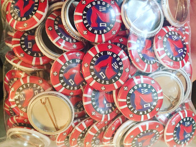 "7DW 1"" Poker chip pin (pack of 5) main photo"