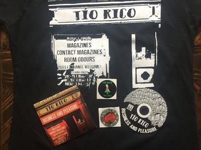 Tio Rico Business and Pleasure Tshirt + CD main photo