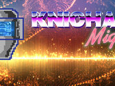 Knichael Might - Headline Marquee Poster photo