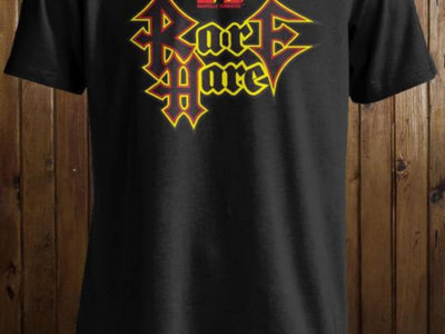 Rare Hare (Headbanger's Ball Style Logo) DO NOT ORDER HERE- These shirts are only available here: https://merch.streamelements.com/tysonlesliemusic main photo