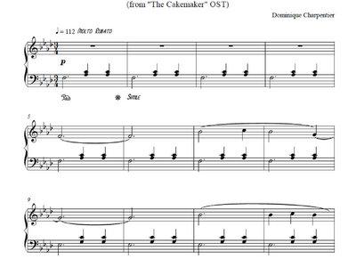 "Sheet music of ""Instantané"" main photo"