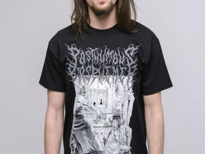 "Posthumous Blasphemer ""Bloody Hatchet of Forgiveness"" GREY LOGO T-Shirt THE LAST XXXL SIZE \m/ main photo"