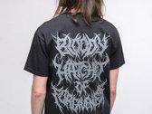 "Posthumous Blasphemer ""Bloody Hatchet of Forgiveness"" GREY LOGO T-Shirt THE LAST XXXL SIZE \m/ photo"