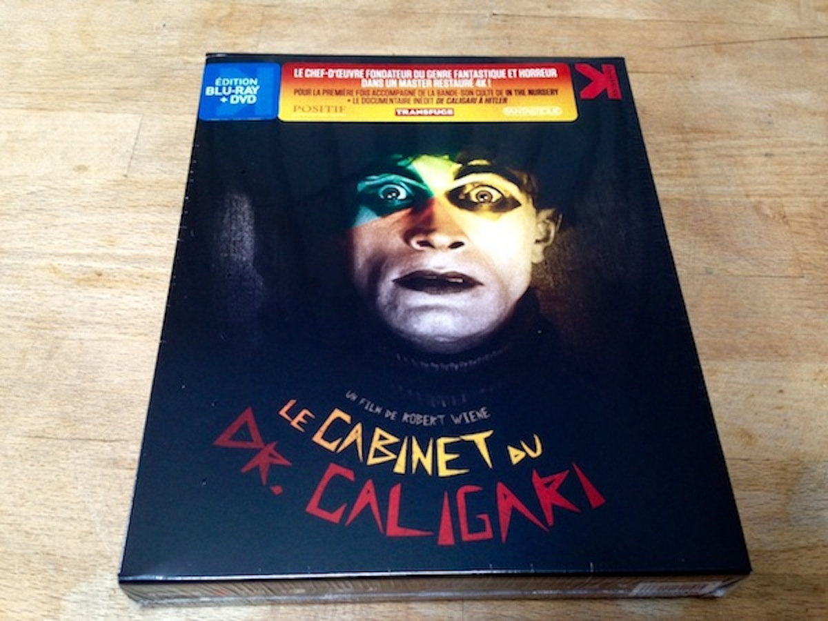 The Cabinet of Doctor Caligari DVD | In The Nursery on