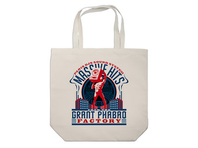 Wearplay LP#14 - Massive Hits From The Grant Phabao Factory - Tote Bag Made In France main photo