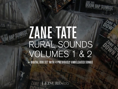 Zane Tate - Rural Sounds Volumes 1 and 2 on CD + Digital Boxset main photo