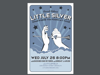 Little Silver Record Release Show Poster main photo