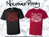 "Nicotine Pretty ""Aces"" design t-shirt. photo"