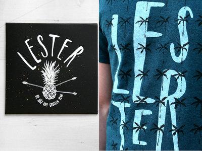 """BUNDLE: 12"""" Vinyl """"Die Lüge vom großen Plan"""" + Shirt (blau/schwarz/rot) main photo"""
