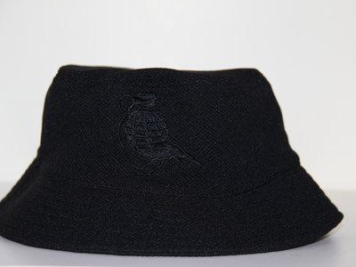 Black On Black Bucket Hat (FREE POSTAGE) main photo