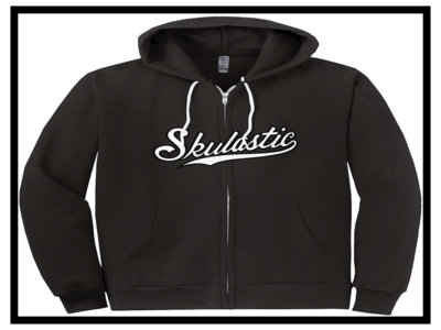 Skulastic Black Zip-Up Hoodie main photo
