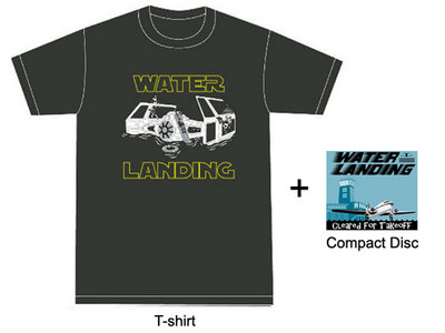 """Tie Figher T-Shirt + """"Cleared for Takeoff"""" CD bundle main photo"""