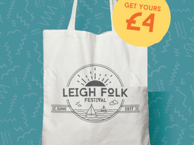 #LeighFolk17 Tote Bag main photo