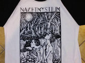 NACHTMYSTIUM - Night of Eulogies & Decay BASEBALL T-SHIRT photo