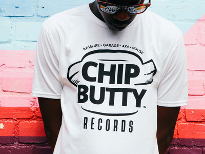 White Chip Butty Records T-Shirt + Stickers main photo