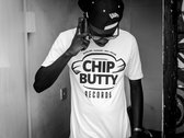 White Chip Butty Records T-Shirt + Stickers photo