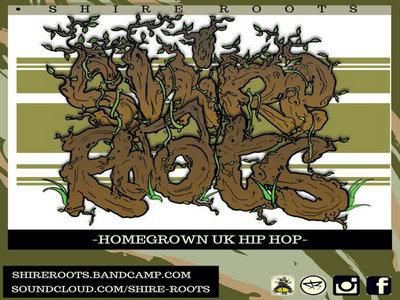 Homegrown Hip-Hop (STICKER) 120x120mm main photo