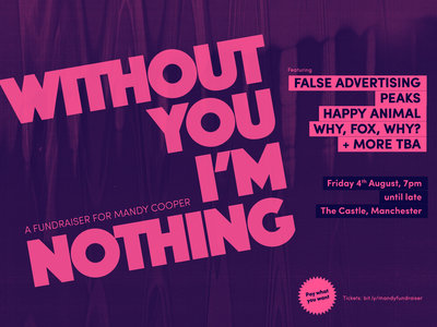 Tickets for: Without You I'm Nothing - Fundraiser for Mandy Cooper main photo