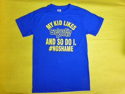 Adult Men's New Blue Splash'N Boots T-shirt main photo