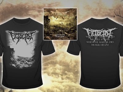 Special Prize Package: Reckoning Dystopia Limited Digipak (including Digital Download) + T-Shirt main photo